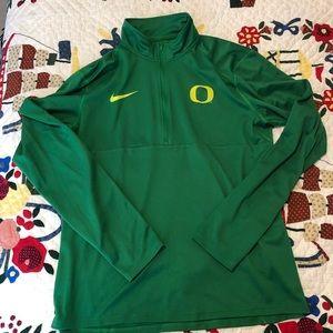 Nike Oregon Ducks 1/4 zip up